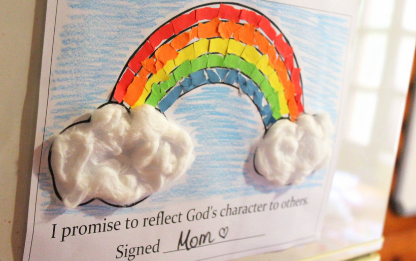 Rainbow Covenant Day 3 (Page 2) - Miracles in Slow Motion